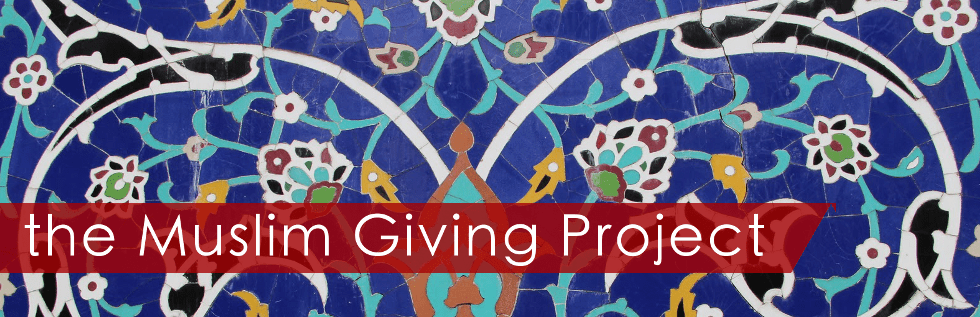The Muslim Giving Project banner - 980