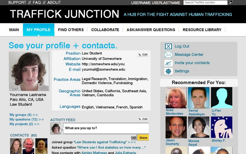 Traffick Junction - My Profile