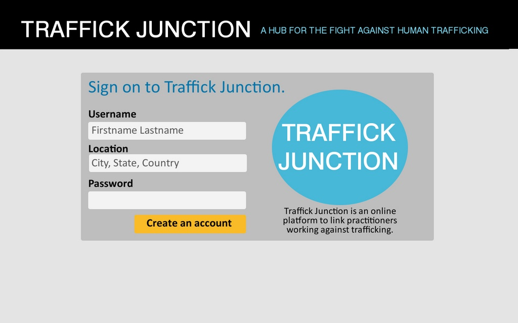 traffick junction mockups - login 2